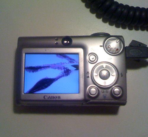 Camera's cracked